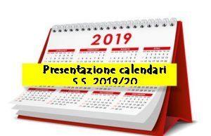 Presentazione Stagione Sportiva 2019-20 – Calendari
